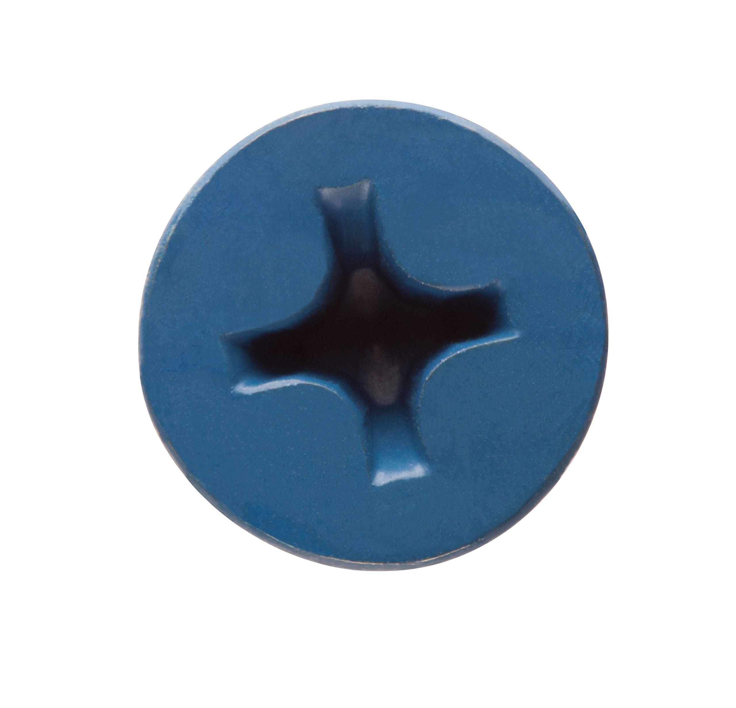 100 per Box CONFAST 3//16 x 3-1//4 Flat Phillips Concrete Screw Anchor with Drill Bit