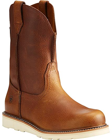 ceef7c2f5 Ariat Mens Rambler Recon Round Western Boot New West 7 D Golden Grizzly   Amazon.co.uk  Shoes   Bags