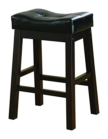 Coaster Home Furnishings Transitional Bar Stool Inch Dark CherryBlack