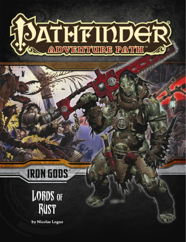 Pathfinder Adventure Path: Iron Gods Part 2 - Lords of Rust ebook