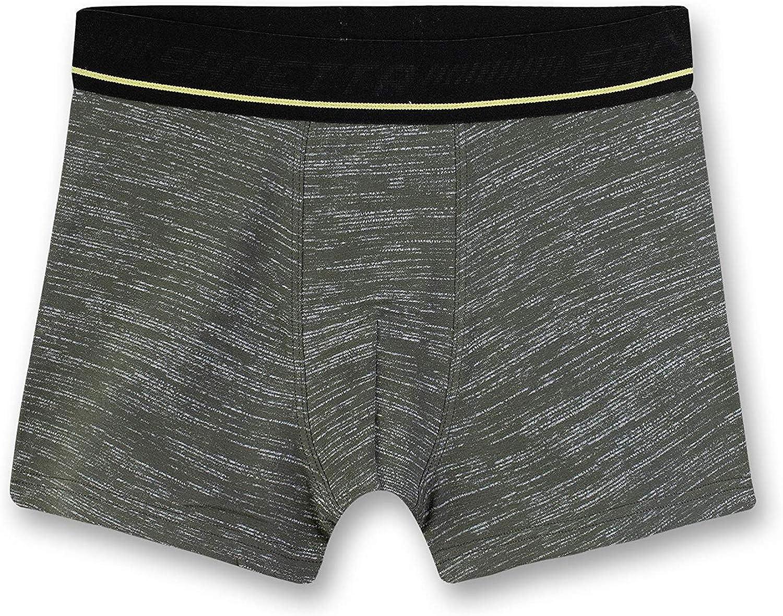 Sanetta Jungen Boxershorts//Hipshorts im Doppelpack,grau camouflaage 346148 164