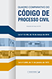 Quadro comparativo do Código de Processo Civil: Atualizada até março de 2016 (Legislação)