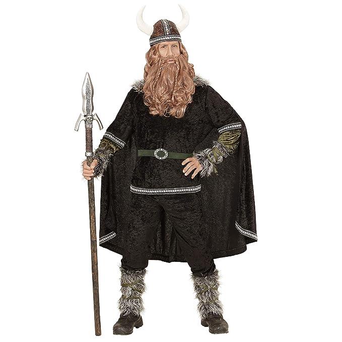 WIDMANN 05984 Adultos Disfraz Vikingo, Superior, Pantalones ...