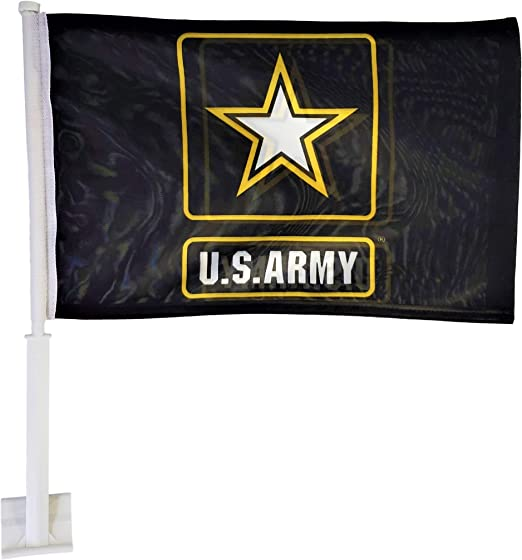 Ramsons Imports Double-Sided U.S Navy Emblem Car Flag 12 x 18