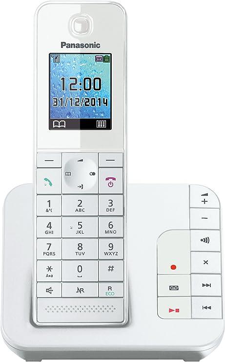 Panasonic Kx Tgh220gw Komfort Telefon Weiß Elektronik