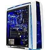 [Gamer's Choice] SkyTech Archangel II Gaming Computer Desktop PC AMD Ryzen 5 1400,GTX 1060 3GB, 1TB HDD,16 GB DDR4, Windows 1