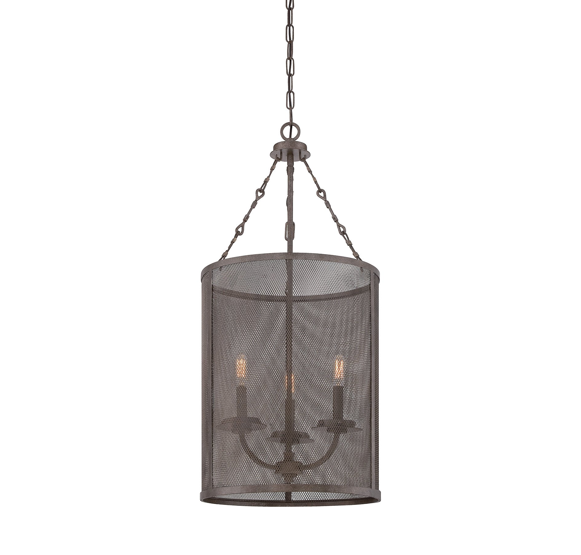 Savoy House 3-2506-3-42 Nouvel 3-Light Foyer Lantern