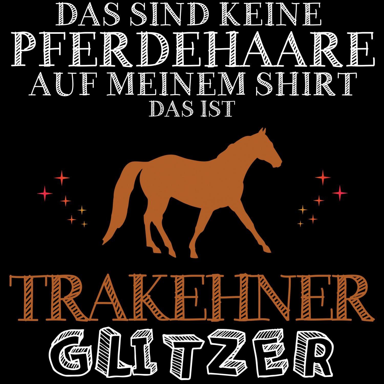 Araber Glitzer Damen T-Shirt Spruch Geschenk Idee Rasse Pferd Reiten Reitsport