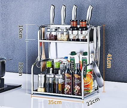 Scaffale per Cucina 304 Scaffale per Cucina in Acciaio Inox ...