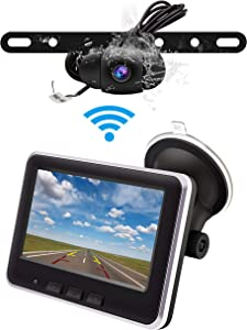 Amazon Giveaway Wireless Backup Camera Monitor Kit
