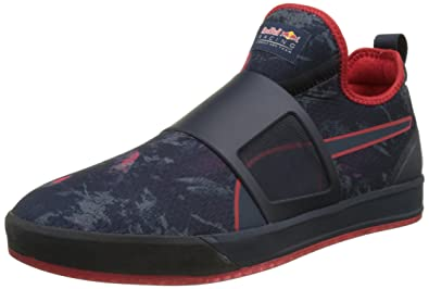 Damen Schuhe Puma Herren Rbr Disc Mid Hohe Sneakers Blau