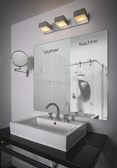 Mirror Defogger Demister Foil No Steamed Up Bathroom Mirrors