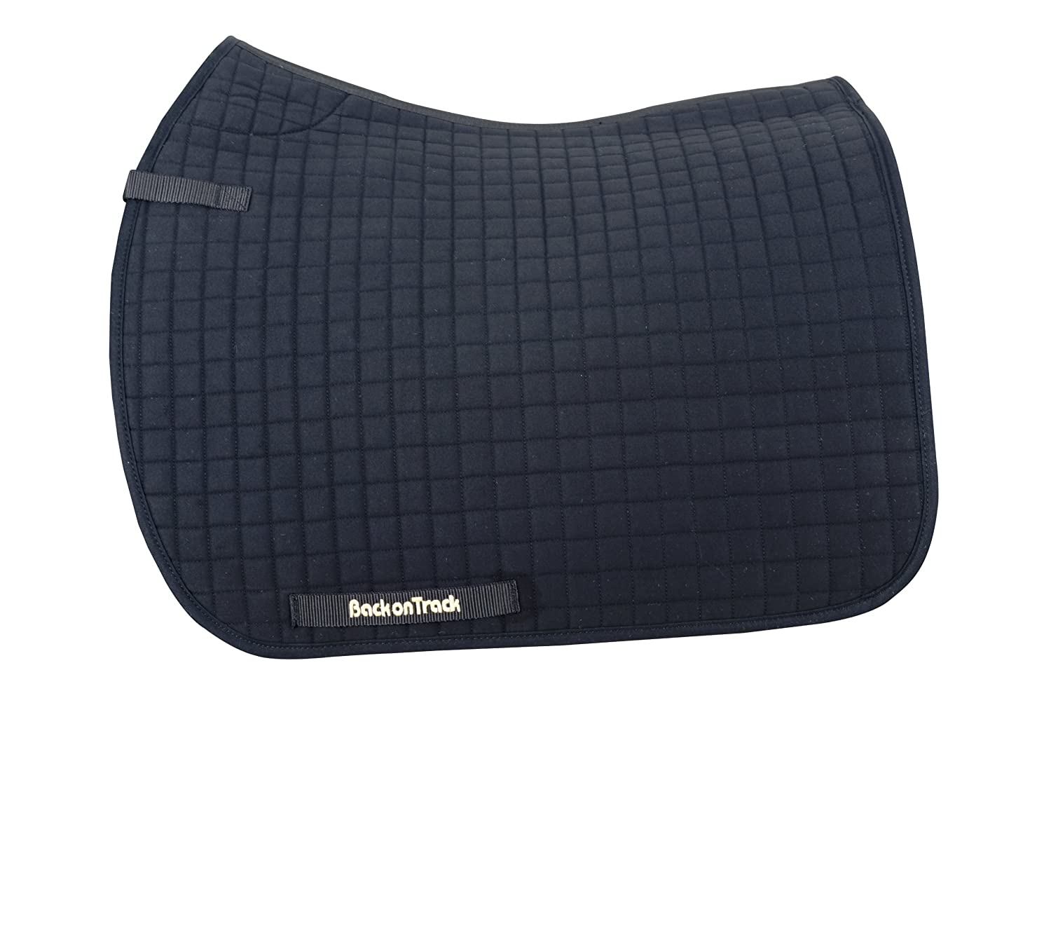 Back on Track Dressage Saddle Pad 22-Inch Spine by 21-Inch Drop White MAGMAR COLONY USA INC 21300200