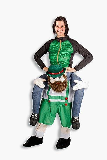 Carry me Kostüm Alm Bavarian Karneval Junggesellenabschied Huckepack ...