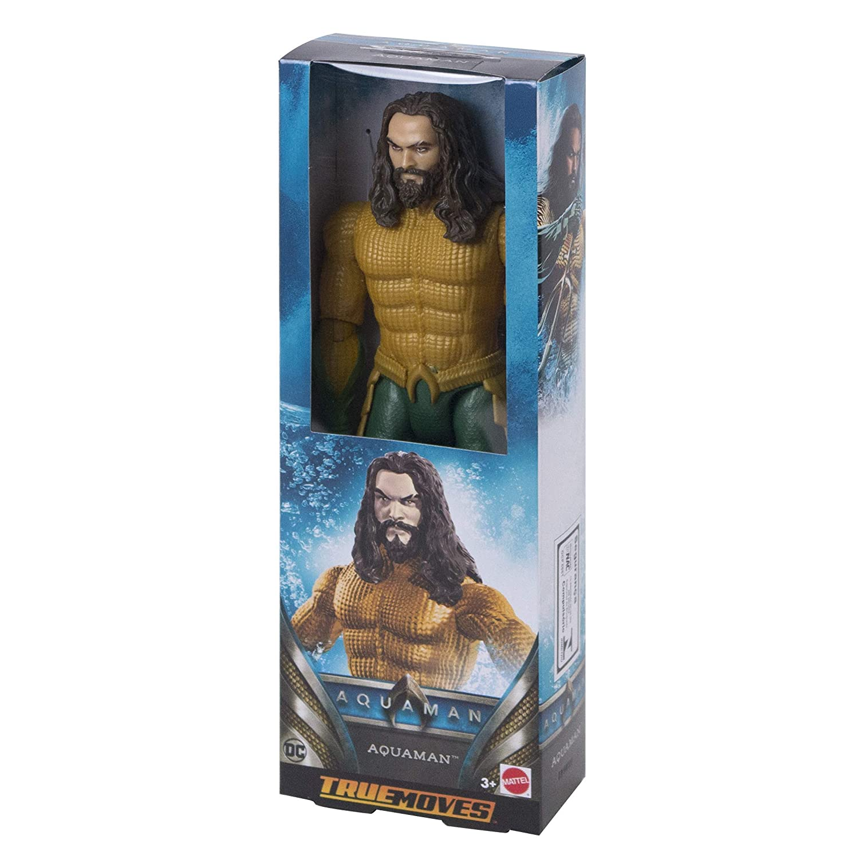 11 points d/'articulation,... DC Comics Aquaman Figurine Mera articulée 30 cm