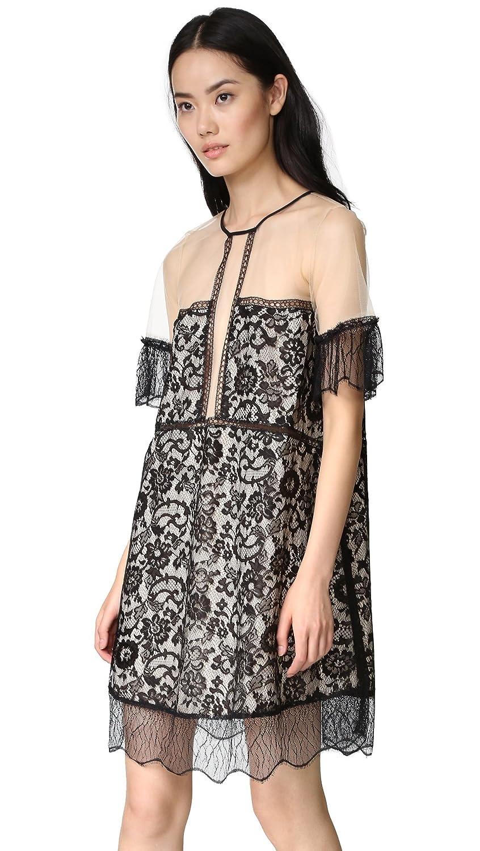 d6659a313207a Amazon.com: KENDALL + KYLIE Women's Paneled Lace Babydoll Dress: Clothing