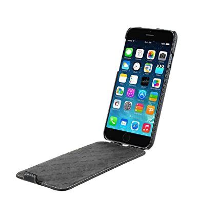 online store 0b0dd 4cc67 Melkco Premium Leather Jacka Type Case for Apple iPhone 6 - Retail  Packaging - Black