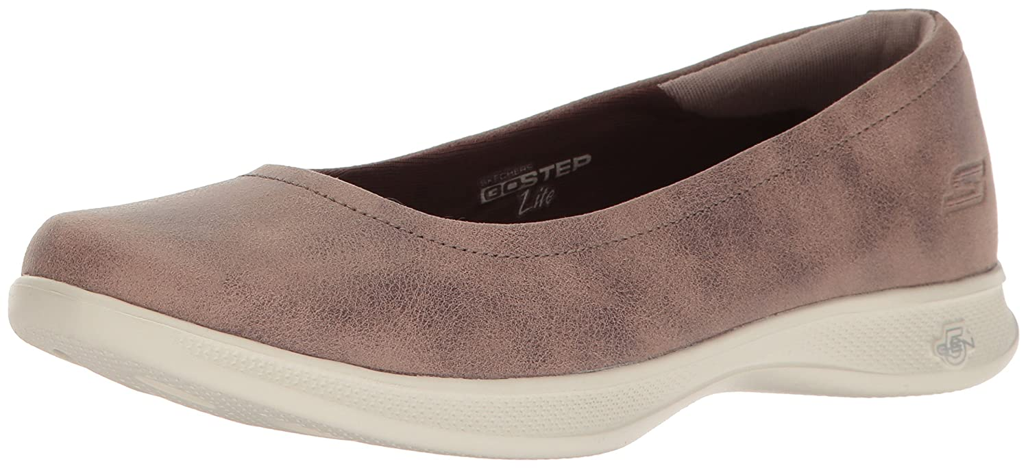 Skechers Go Step Lite, Mary Janes para Mujer 35 EU|Marrón (Brown)