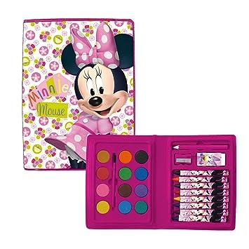Estuche pintura Minnie Disney 24pz: Amazon.es: Juguetes y juegos