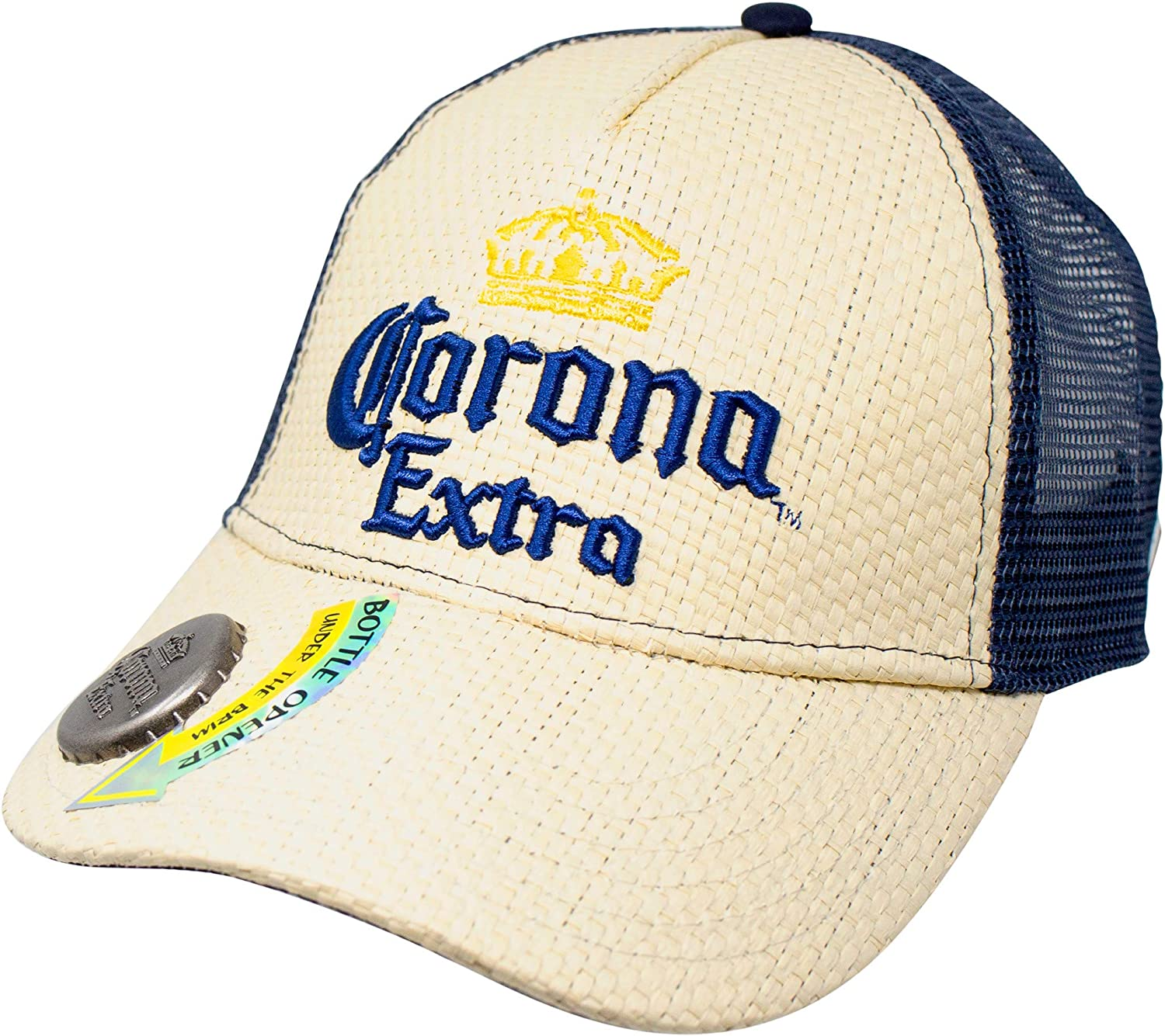 Corona Extra Bottle Opener Mesh Trucker Baseball Adjustable Snapback Cap Hat