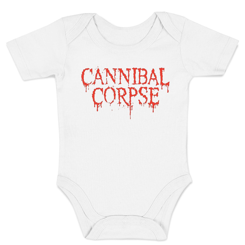 100/% Baumwolle Baby t-Shirt LaMAGLIERIA Jersey Shirt f/ür Babys ACDC 3D Logo