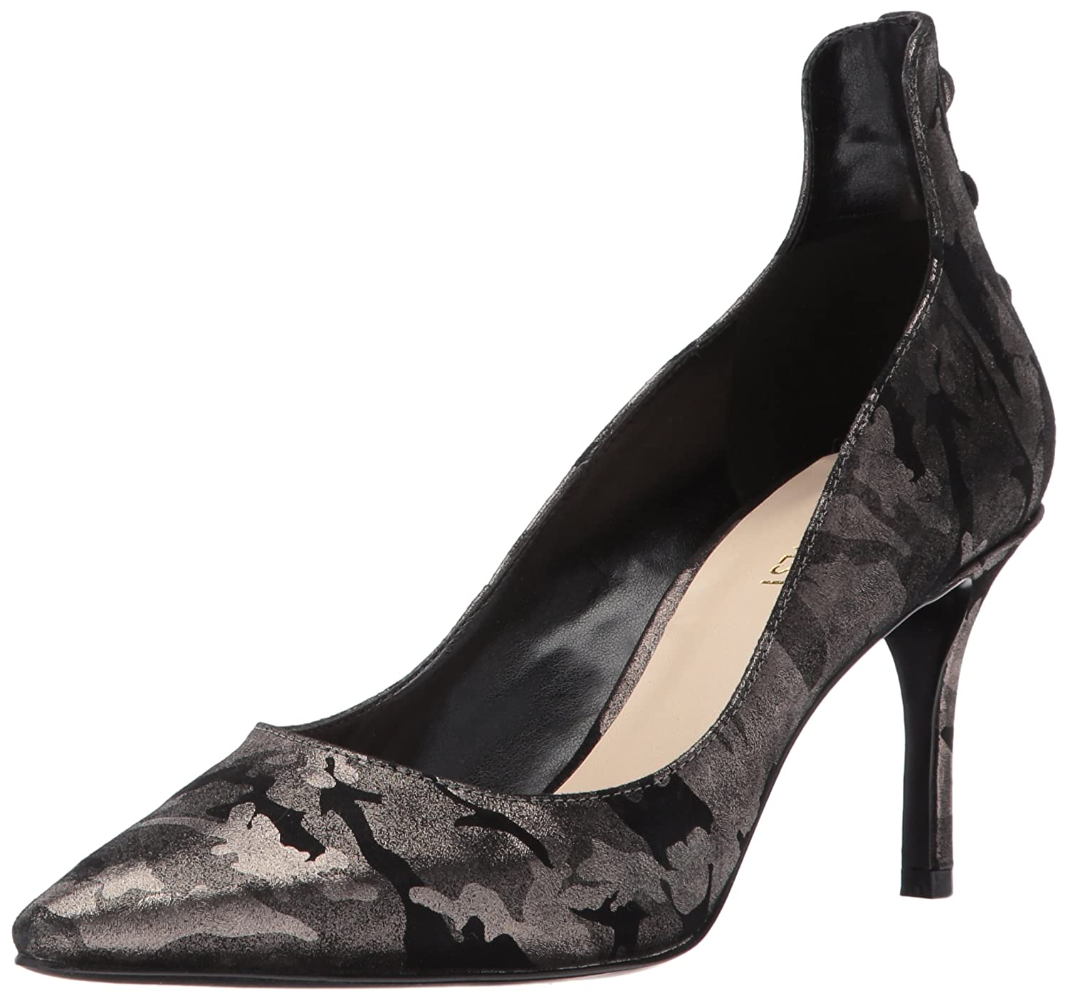 Nine West Women's Maqui Pump B01MZICH5Z 7.5 B(M) US|Pewter Metallic
