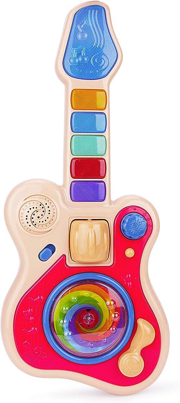 Tonsee/® Baby Chila Kid Cartoon Xylophone Guitar Toy Wishdom Development Musical Instrument Blue