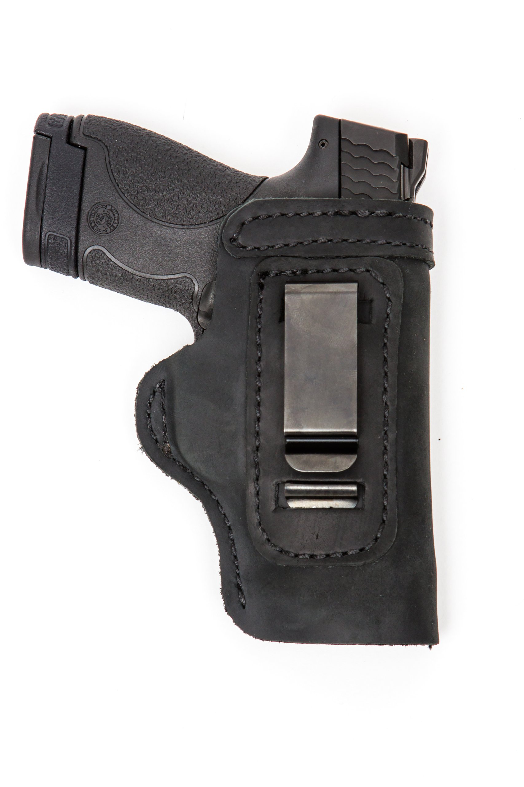Glock Pro Carry LT CCW IWB Leather Gun Holster New Black