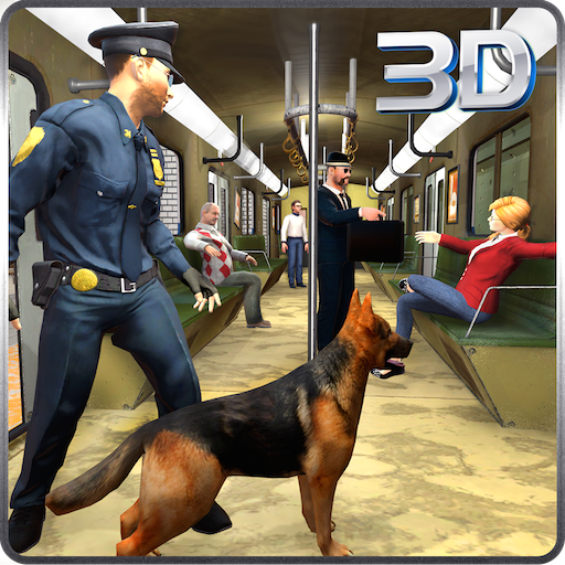 Police Dog Hunt Crime City Subway Criminal Case 3D: Policías contra ladrones Escape Survival Mission Adventure Simulator Games Gratis para niños 2018: ...