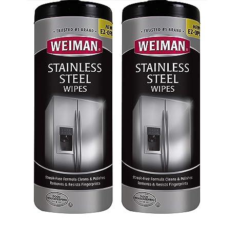 Amazon.com: Weiman - Limpiador de encimera y toallitas de ...