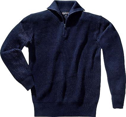Bekleidung & Schutzausrüstung Troyer-Pullover mit Reißverschluss marine Gr L