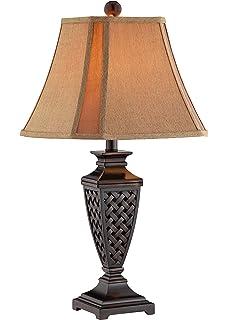 stein world colin resin table lamp dark bronze
