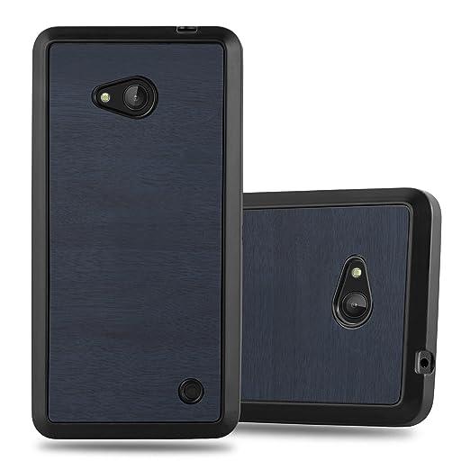 4 opinioni per Cadorabo – Custodia silicone TPU per Nokia Lumia 640 in Ottica di Legno- Case