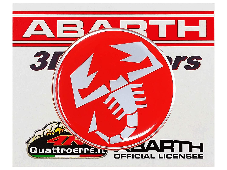 di/ámetro 50/mm Abarth 21540/Stickers Pegatinas 3d Escorpio