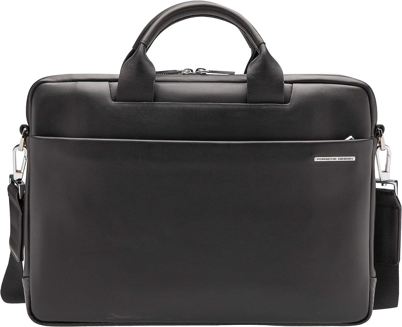 4090002859 Homme Porte H//B//T Porsche Design Briefcase BriefBag SHZ 1 RFID CL 2 3.0 Cuir Small 27 x 38 x 5 cm