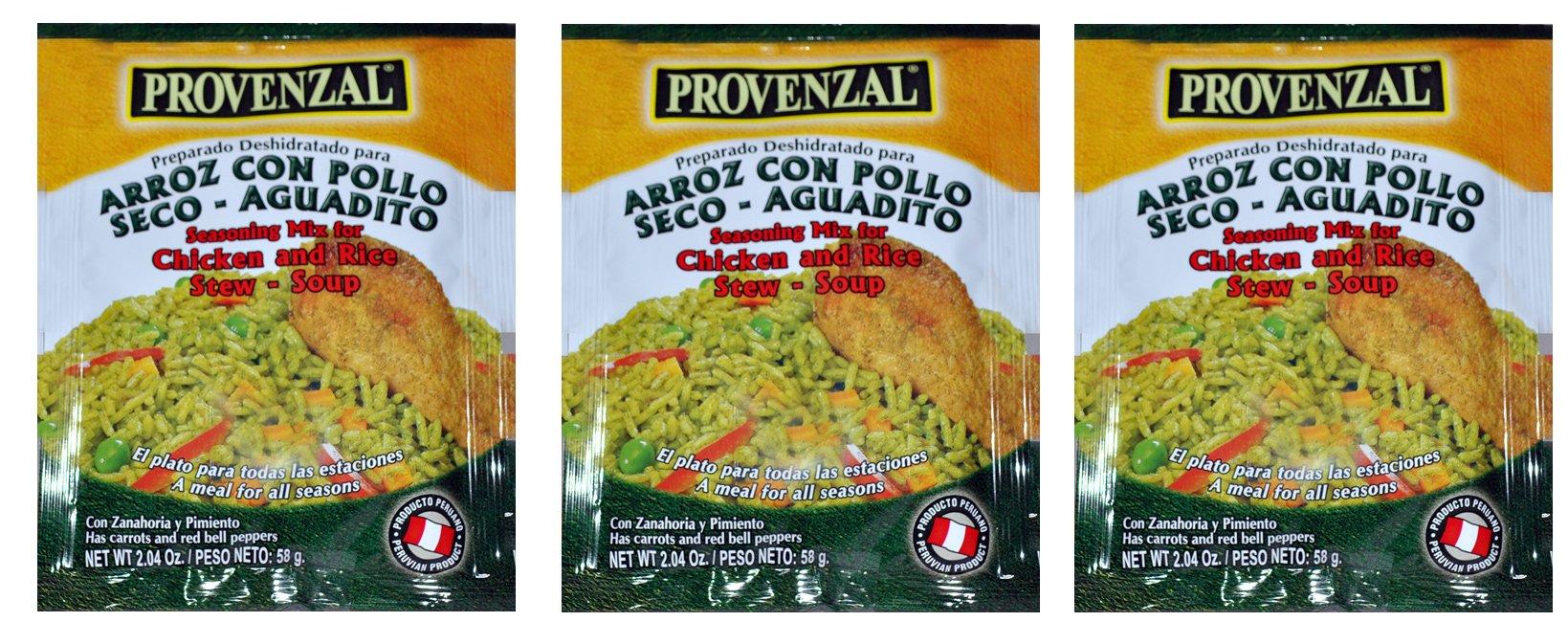 Arroz con Pollo Provenzal 3 pack of 2.04 oz each - 3 sobres