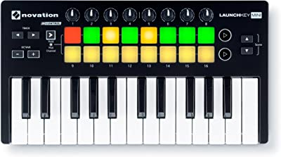 front facing novation launchkey mk2