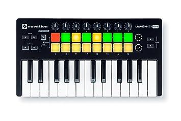 Novation Launchkey Mini MKII USB Keyboard Controller