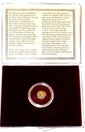 Coin of the Hanging Gardens of Babylon The Lost Wonder of the Ancient World