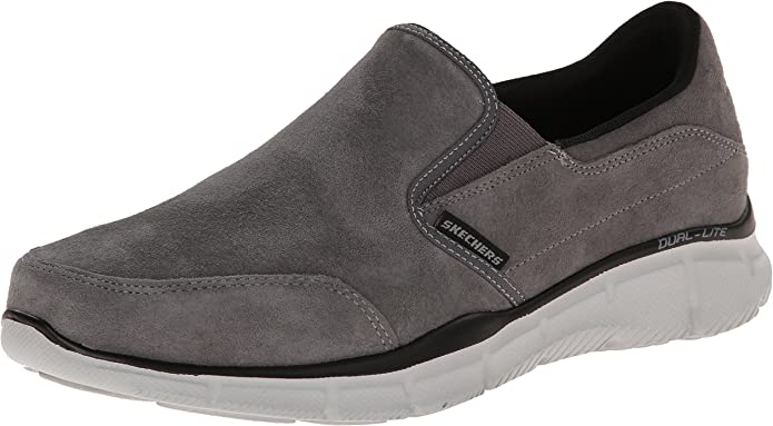 Skechers Equalizer Mind Game Sneakers Herren Grau (Charcoal)