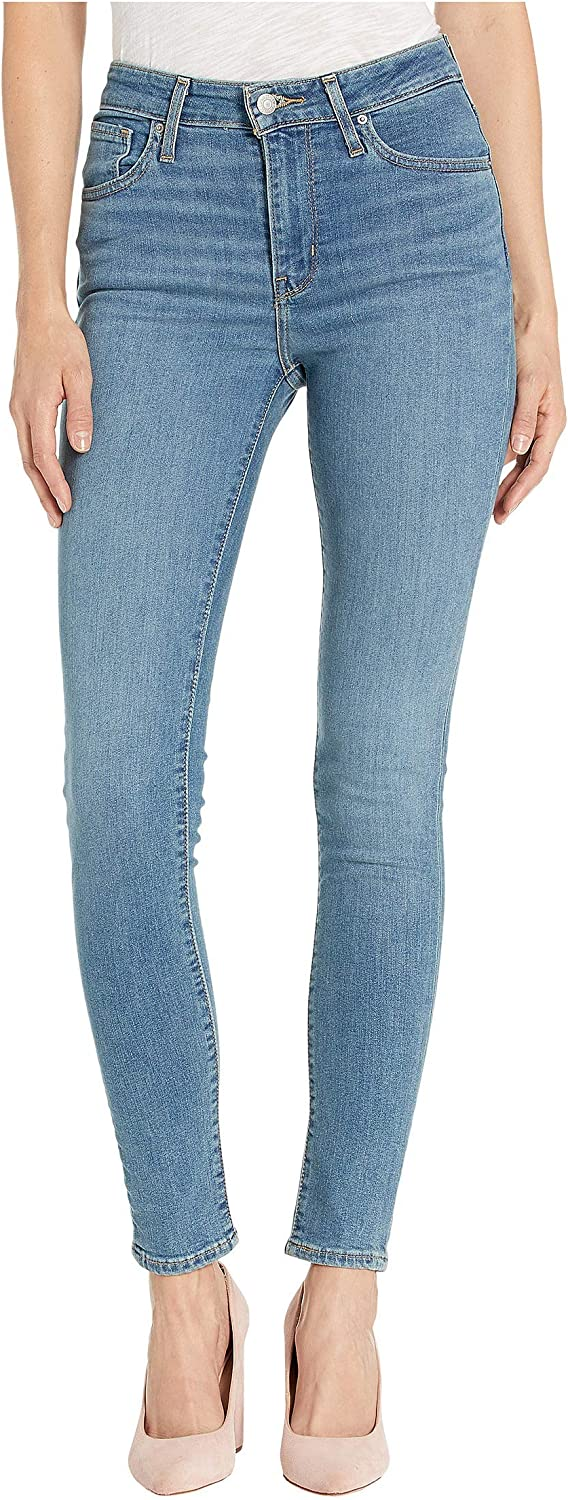 Levi's Damen 721 High Rise Skinny Jeans Los Angeles Sun