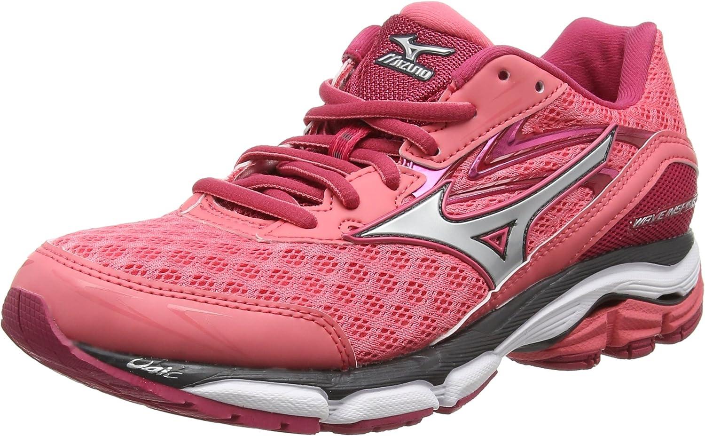 Mizuno Wave Inspire 12, Zapatillas de running Mujer, Rosa (Calypso ...