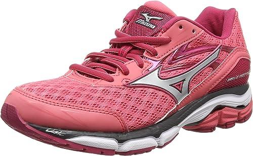Mizuno Wave Inspire 12, Zapatillas de running Mujer, Rosa ...