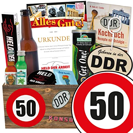 Manner Paket Manner Geschenkbox Geburtstag 50 Geschenk Box