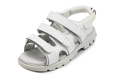 Euro-Dan Walki Sandale mit Klettverschluss weiszlig; O+E+A+SRC