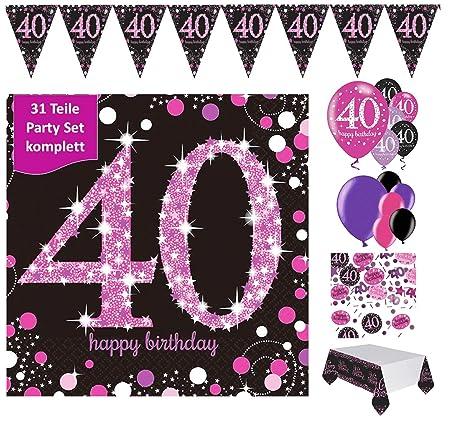 Fijo celebran Figura decorativa para 40 cumpleaños ...