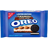 OREO Chocolate Sandwich Cookies, Tiramisu Flavored Creme, Limited Edition, 1 Pack (12.2 oz.)