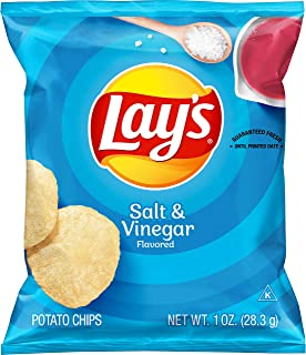 product image for Lay's Salt & Vinegar Flavored Potato Chips, 1 Ounce (Pack of 40)