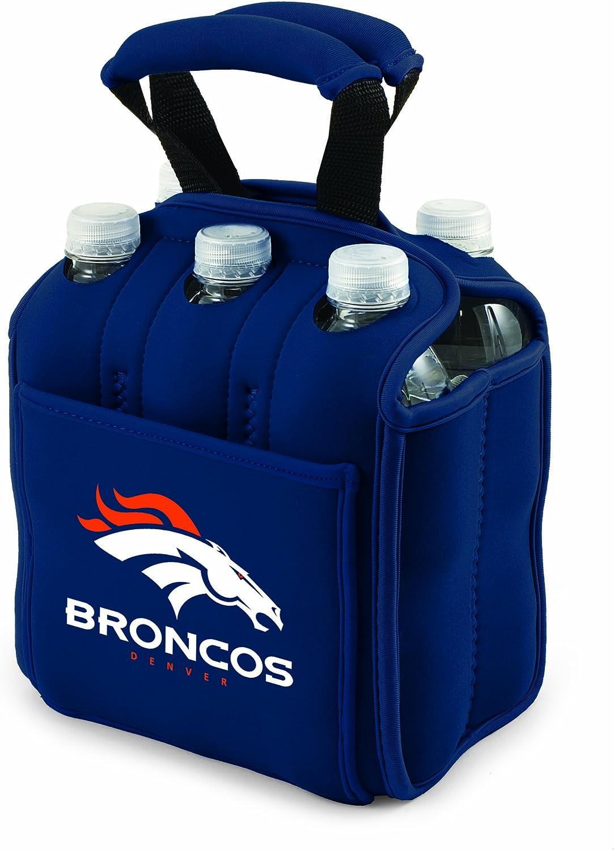 NFL Denver Broncos Six Pack Cooler Tote