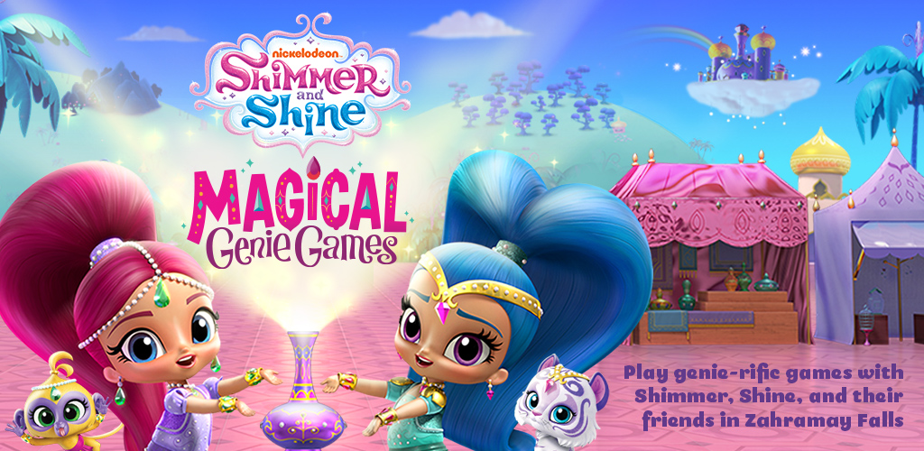 7fb2979fa2 Amazon.com: Shimmer and Shine: Magical Genie Games for Kids: Appstore for  Android